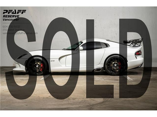 2014 Dodge SRT Viper GTS (Stk: MV0267B) in Vancouver - Image 1 of 20
