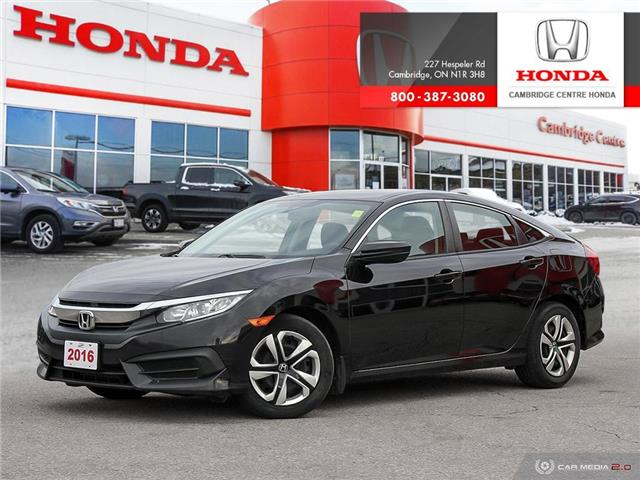 2016 Honda Civic LX (Stk: 20053A) in Cambridge - Image 1 of 27