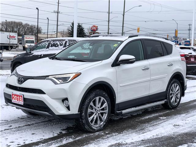 2018 Toyota RAV4 Limited (Stk: W4932) in Cobourg - Image 1 of 27