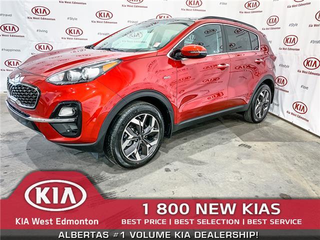 2020 Kia Sportage EX Premium (Stk: 22113) in Edmonton - Image 1 of 17