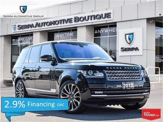 2017 Land Rover Range Rover 5.0L V8 Supercharged Autobiography (Stk: P1016) in Aurora - Image 1 of 26