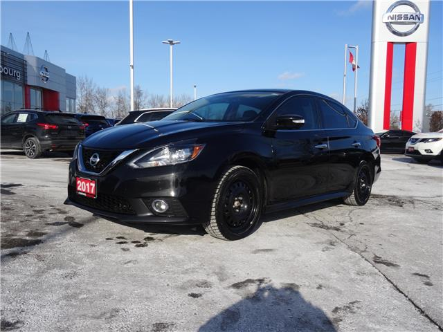 2017 Nissan Sentra 1.6 SR Turbo 3N1CB7APXHY203316 CKW335233A in Cobourg
