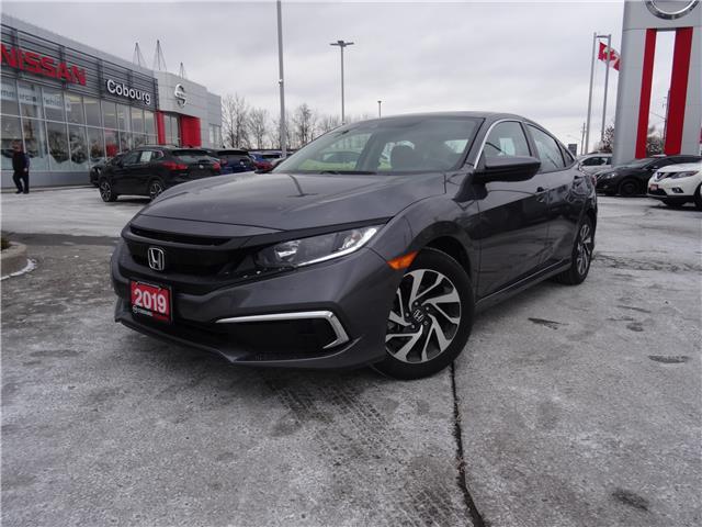 2019 Honda Civic EX (Stk: CKC653572A) in Cobourg - Image 1 of 27