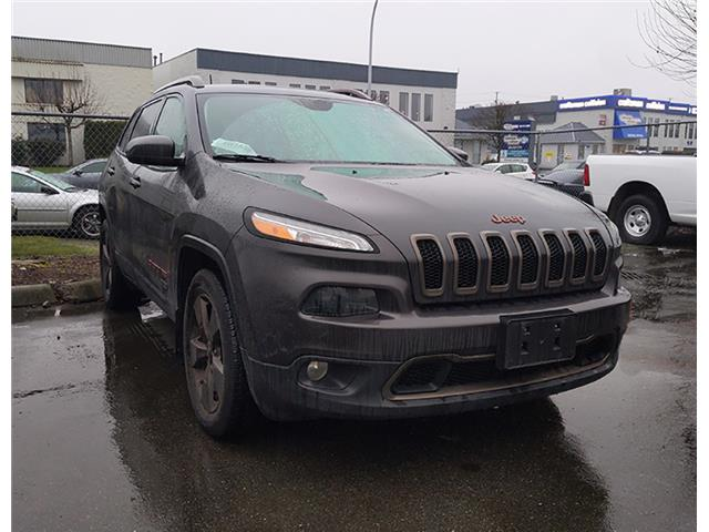 2016 Jeep Cherokee North (Stk: K378554A) in Surrey - Image 1 of 1