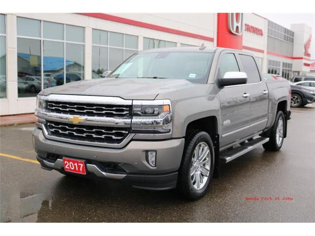 2017 Chevrolet Silverado 1500 High Country (Stk: U1069) in Fort St. John - Image 1 of 20
