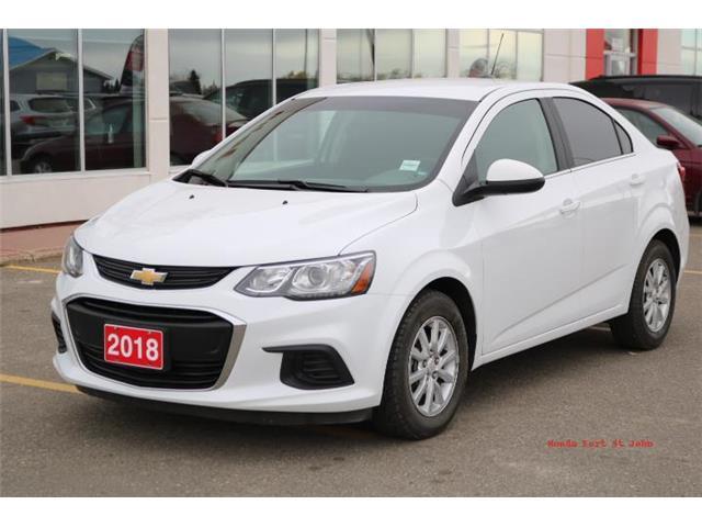 2018 Chevrolet Sonic LT Auto (Stk: U1076) in Fort St. John - Image 1 of 19