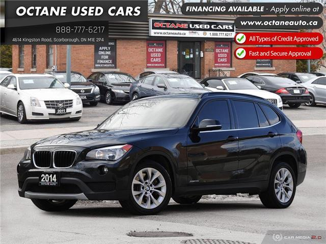 2014 BMW X1 xDrive35i (Stk: ) in Scarborough - Image 1 of 26