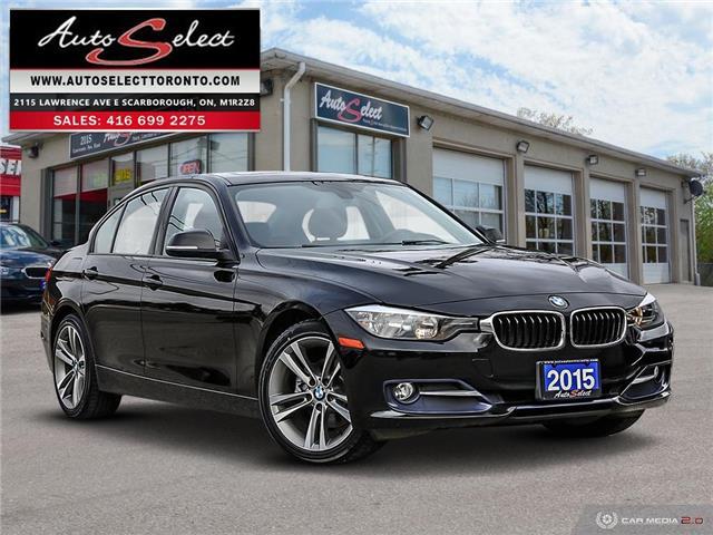 2015 BMW 320i xDrive WBA3C3G52FNS76647 1ZR3PK2 in Scarborough