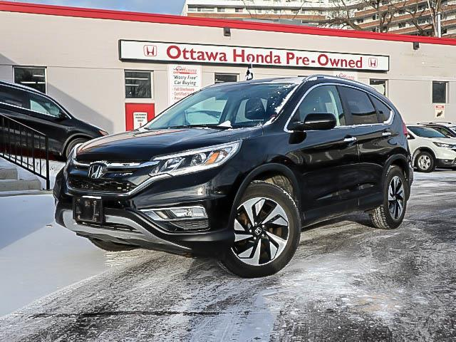 2015 Honda CR-V Touring (Stk: H80320) in Ottawa - Image 1 of 28