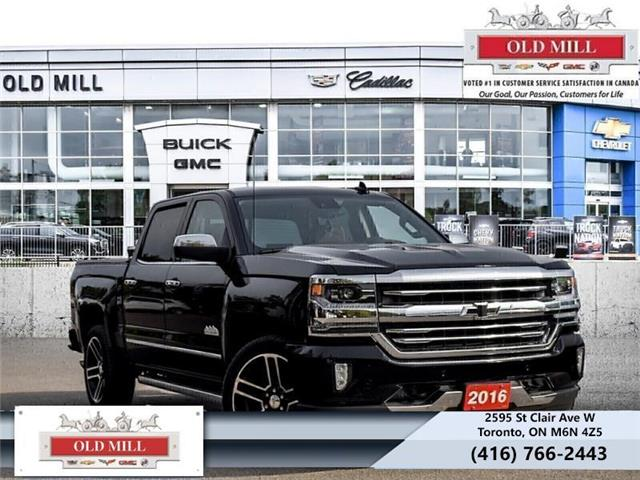 2016 Chevrolet Silverado 1500 High Country (Stk: 339933U) in Toronto - Image 1 of 19