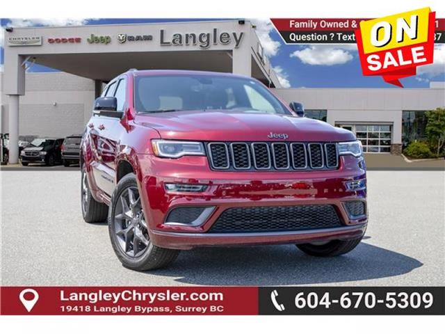 2019 Jeep Grand Cherokee Limited (Stk: EE909670) in Surrey - Image 1 of 27