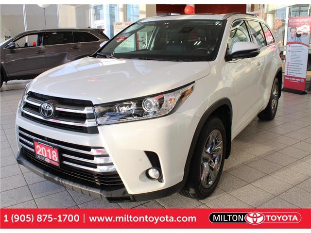 2018 Toyota Highlander Limited 5TDDZRFH1JS912546 912546A in Milton