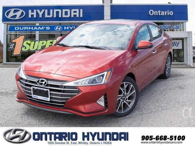 2020 Hyundai Elantra Preferred w/Sun & Safety Package (Stk: 003220) in Whitby - Image 1 of 19