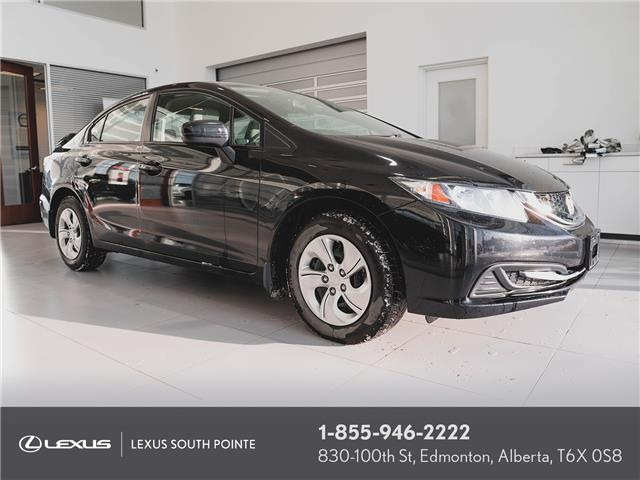 2015 Honda Civic LX (Stk: L900695B) in Edmonton - Image 1 of 19