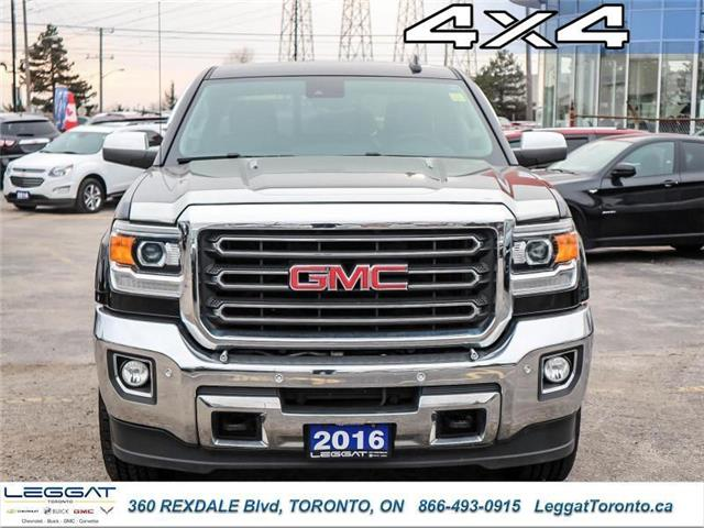 2016 GMC Sierra 2500HD SLT (Stk: 415780A) in Etobicoke - Image 2 of 28