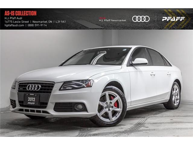 2012 Audi A4 2.0T (Stk: A11958AA) in Newmarket - Image 1 of 22