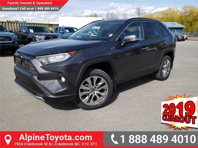 2019 Toyota RAV4 Limited (Stk: W043620) in Cranbrook - Image 1 of 17