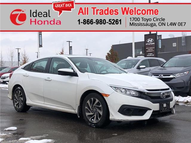 2018 Honda Civic EX (Stk: I191038A) in Mississauga - Image 1 of 11