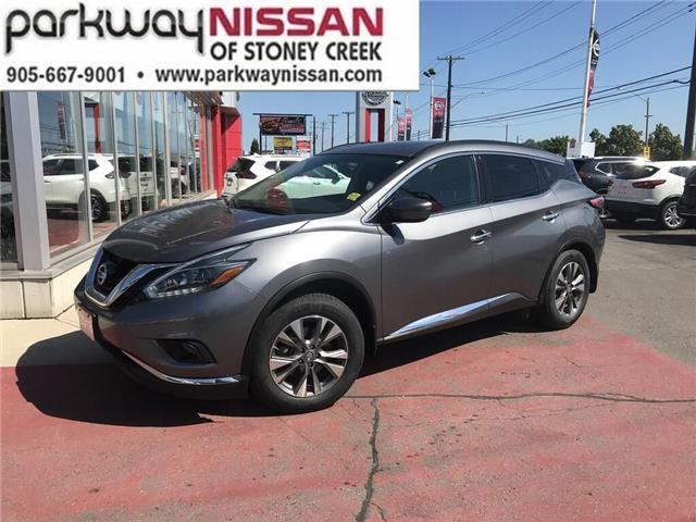 2018 Nissan Murano SV (Stk: N1493) in Hamilton - Image 1 of 12