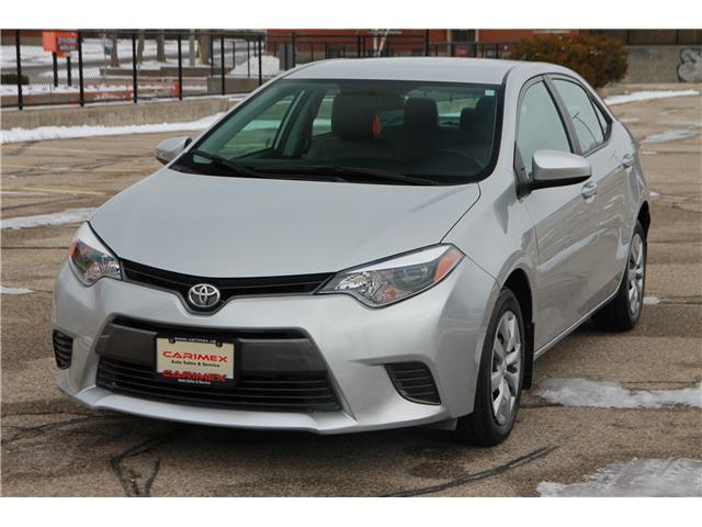 2016 Toyota Corolla LE (Stk: 1911579) in Waterloo - Image 1 of 26