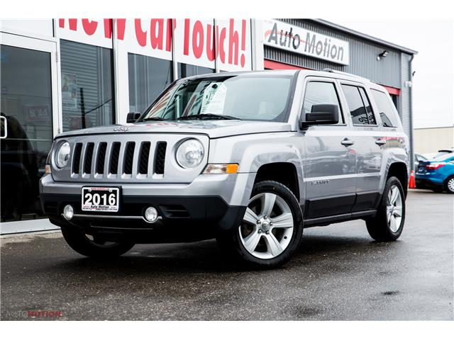 2016 Jeep Patriot Sport/North (Stk: 191035) in Chatham - Image 1 of 24
