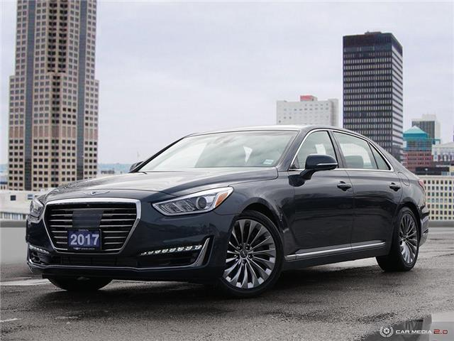 2017 Genesis G90 3.3T Ultimate (Stk: 75767) in London - Image 1 of 27