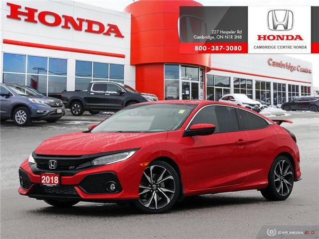 2018 Honda Civic Si 2HGFC3A53JH220289 20234A in Cambridge