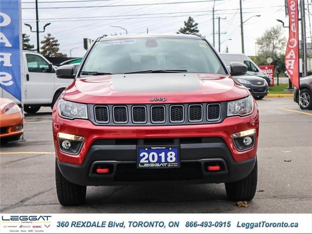 2018 Jeep Compass Trailhawk (Stk: T11666) in Etobicoke - Image 2 of 25