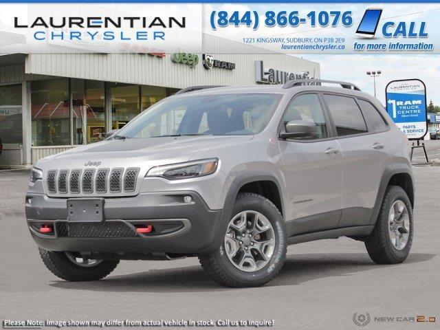 2020 Jeep Cherokee Trailhawk (Stk: 20145) in Sudbury - Image 1 of 22