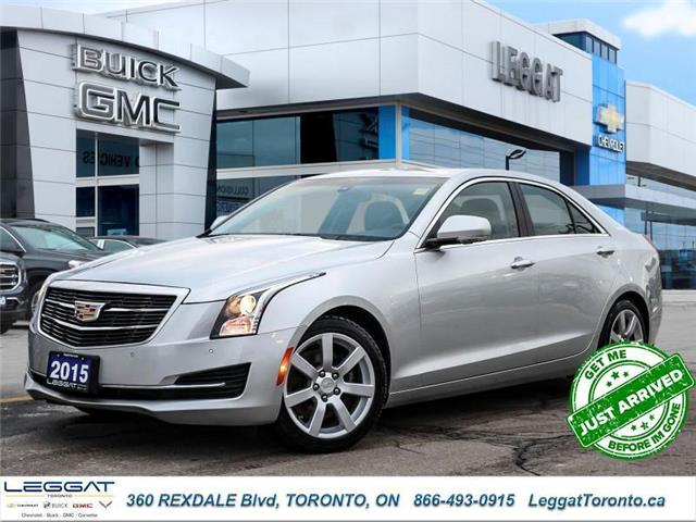 2015 Cadillac ATS 2.0L Turbo Luxury (Stk: T11645A) in Etobicoke - Image 1 of 24