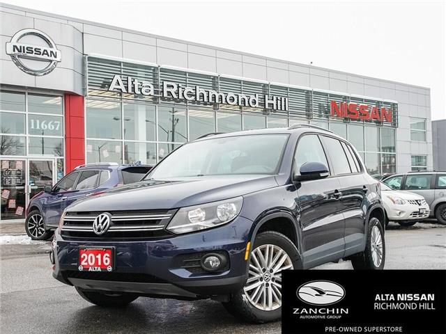 2016 Volkswagen Tiguan Special Edition (Stk: RU2779) in Richmond Hill - Image 1 of 22