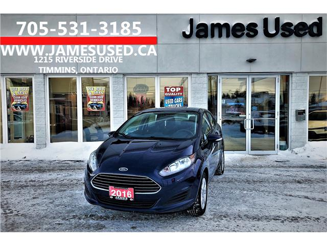 2016 Ford Fiesta SE (Stk: P02685) in Timmins - Image 1 of 14
