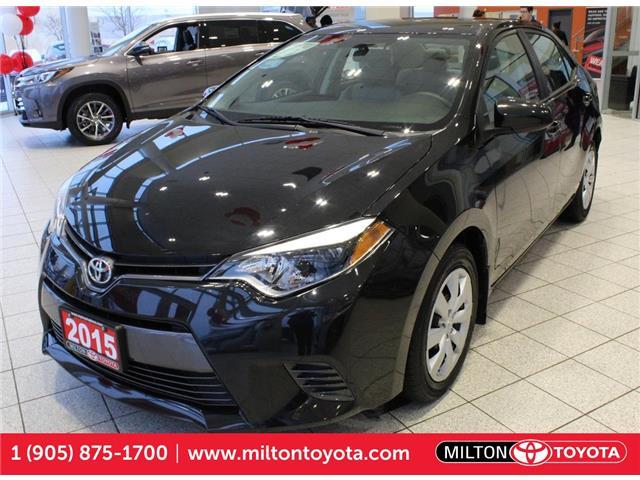 2015 Toyota Corolla LE 2T1BURHE9FC316903 316903 in Milton