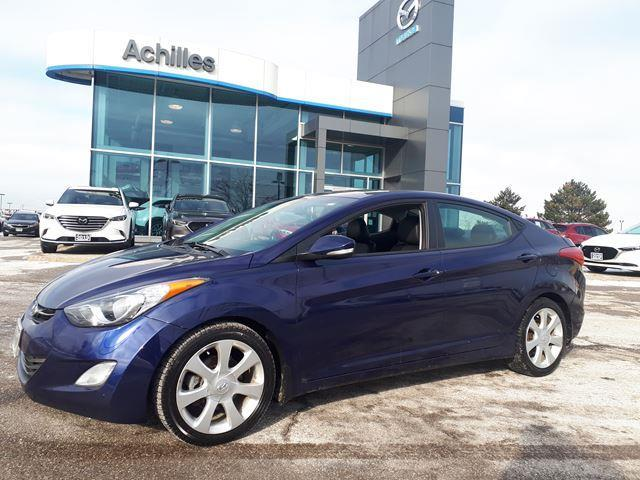 2013 Hyundai Elantra Limited (Stk: H1991A) in Milton - Image 1 of 13