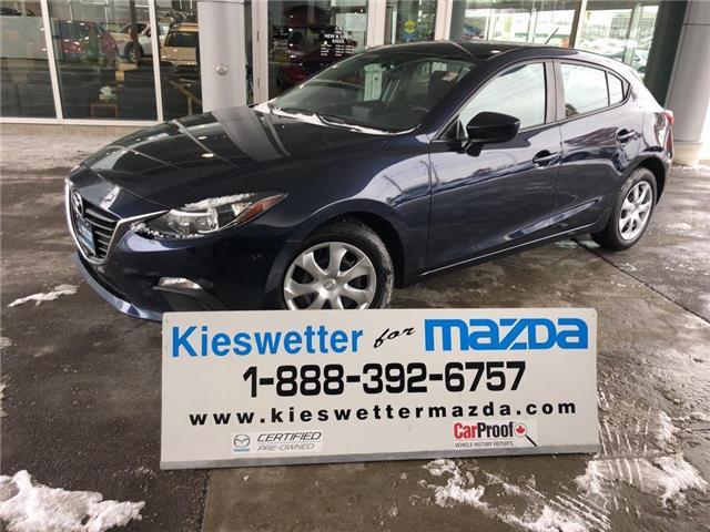 2016 Mazda Mazda3 Sport GX (Stk: U3939) in Kitchener - Image 1 of 29