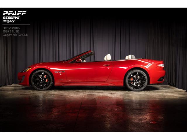2013 Maserati GranTurismo Sport (Stk: CC011) in Calgary - Image 1 of 18