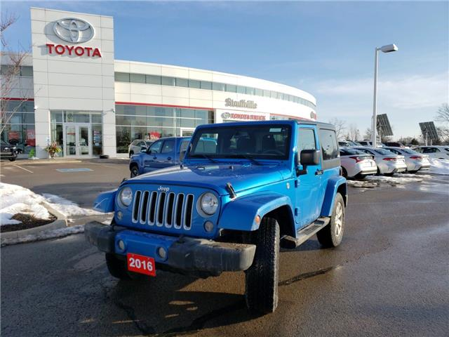2016 Jeep Wrangler Sahara (Stk: P2026A) in Whitchurch-Stouffville - Image 1 of 12