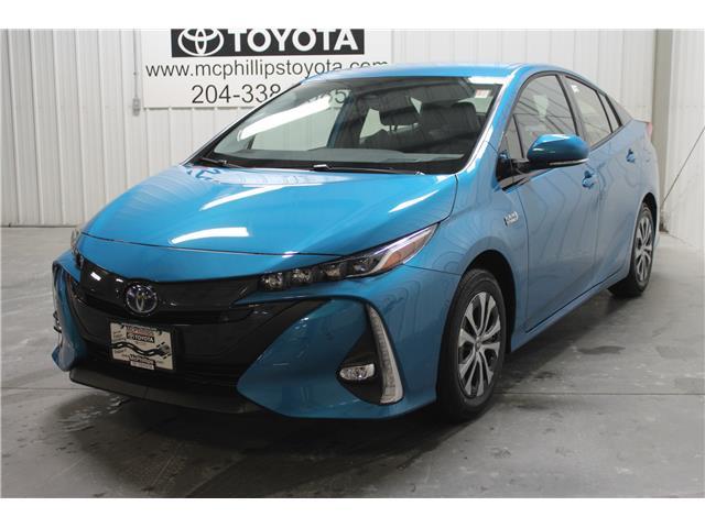 2020 Toyota Prius Prime Upgrade (Stk: 3143526) in Winnipeg - Image 1 of 25
