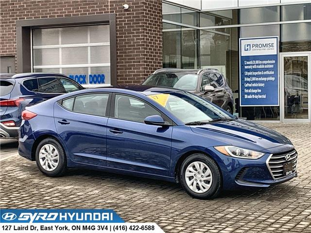 2017 Hyundai Elantra LE (Stk: H5477) in Toronto - Image 1 of 27