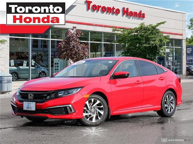 2019 Honda Civic Sedan EX (Stk: H39858A) in Toronto - Image 1 of 28