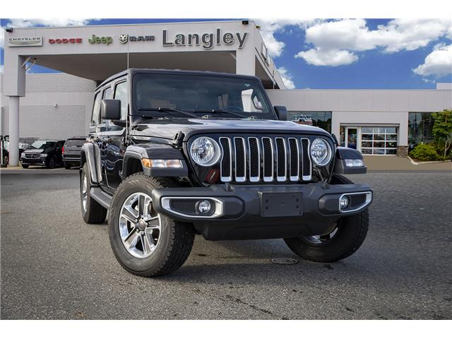 2018 Jeep Wrangler Unlimited Sahara (Stk: LC0137) in Surrey - Image 1 of 22