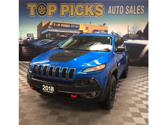 2018 Jeep Cherokee Trailhawk (Stk: 593681) in NORTH BAY - Image 1 of 29
