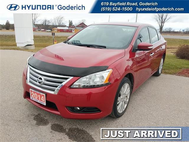 2014 Nissan Sentra  (Stk: 20065A) in Goderich - Image 1 of 18