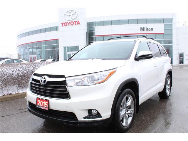 2015 Toyota Highlander Limited (Stk: 183174B) in Milton - Image 1 of 18
