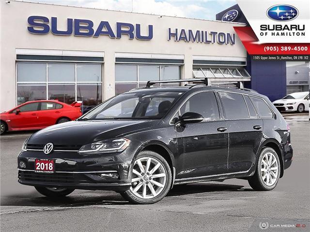 2018 Volkswagen Golf SportWagen 1.8 TSI Comfortline (Stk: S8049A) in Hamilton - Image 1 of 28