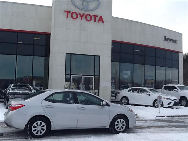 2016 Toyota Corolla CE (Stk: p19191) in Owen Sound - Image 1 of 8