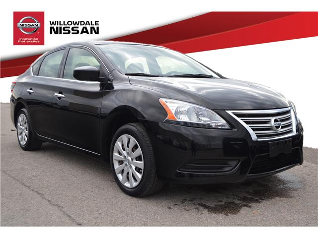 2014 Nissan Sentra 1.8 SV (Stk: N378A) in Thornhill - Image 1 of 25