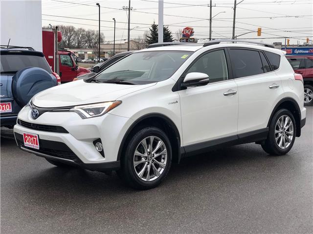 2017 Toyota RAV4 Hybrid Limited (Stk: W4954) in Cobourg - Image 1 of 27