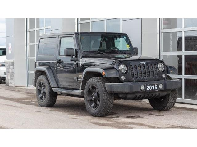 2015 Jeep Wrangler Sahara (Stk: 10615AUX) in Innisfil - Image 1 of 14