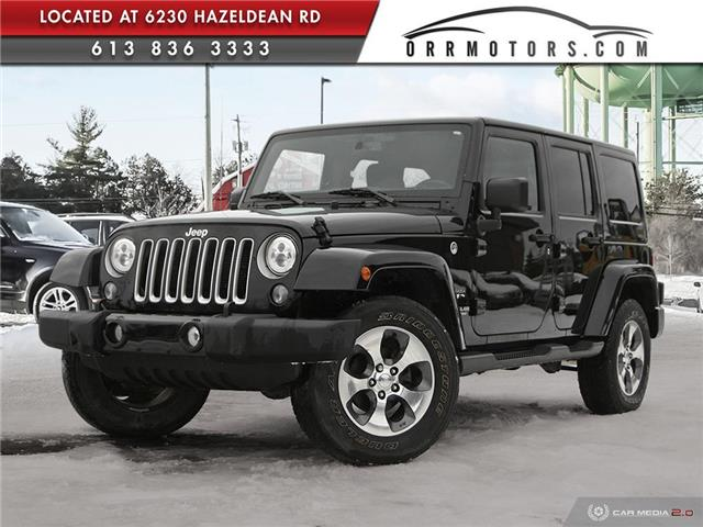 2016 Jeep Wrangler Unlimited Sahara (Stk: 6000) in Stittsville - Image 1 of 27